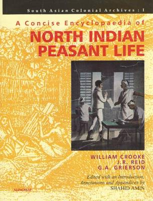 A Concise Encyclopaedia of North Indian Peasant Life South Asian Colonial Archive I by Shahid Amin