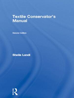 Textile Conservator's Manual book