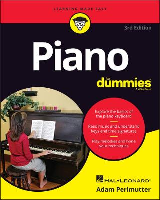 Piano for Dummies, 3rd Edition: 4th Edition by Hal Leonard Corporation
