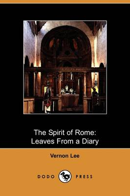 Spirit of Rome by Vernon Lee