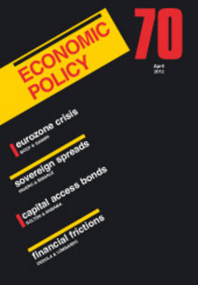Economic Policy  70 by Georges De Menil