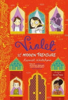 Violet and the Hidden Treasure by Harriet Whitehorn