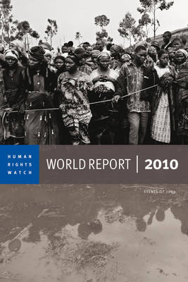2010 Human Rights Watch World Report book