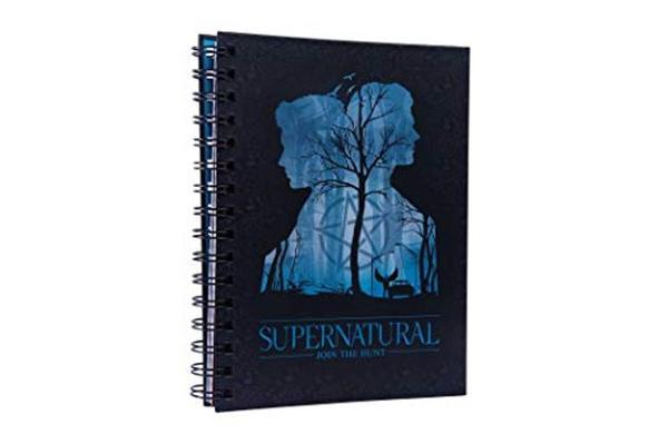 Supernatural Spiral Notebook book