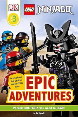 LEGO NINJAGO Epic Adventures book