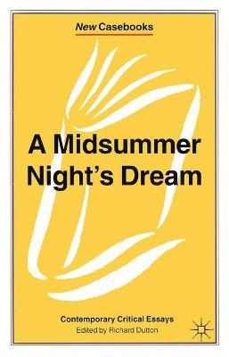 Midsummer Night's Dream book