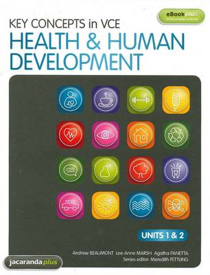 Key Concepts in VCE Health & Human Development Units 1&2 & EBookPLUS by Andrew Beaumont