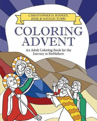 Coloring Advent by Christopher Rodkey