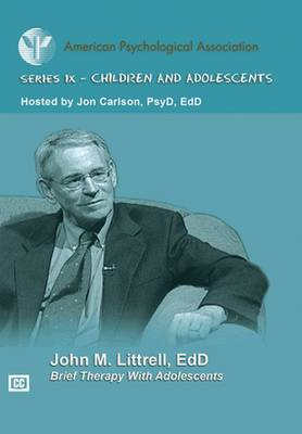 Brief Therapy with Adolescents book