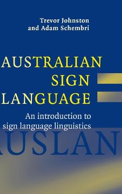Australian Sign Language (Auslan) book