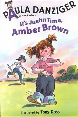 It's Justin Time, Amber Brown book