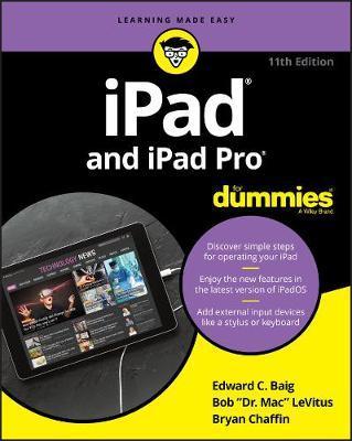 iPad and iPad Pro For Dummies by Edward C. Baig