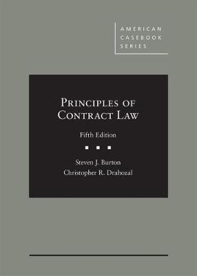 Principles of Contract Law by Steven Burton