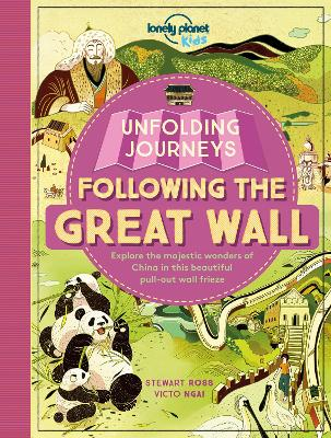 Unfolding Journeys - Following the Great Wall book