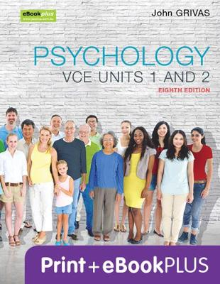 Psychology VCE Units 1 and 2 8E & eBookPLUS by John Grivas