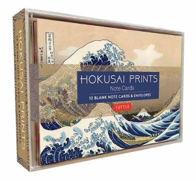 Hokusai Prints Note Cards: 12 Blank Note Cards and Envelopes by Tuttle Editors