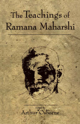 Teachings of Ramana Maharshi book