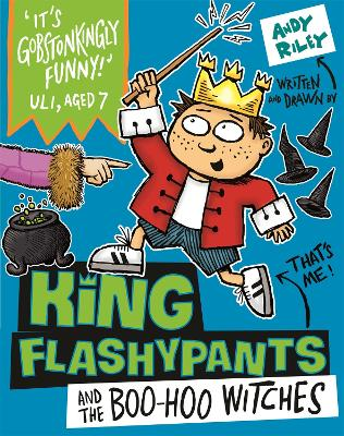 King Flashypants and the Boo-Hoo Witches by Andy Riley