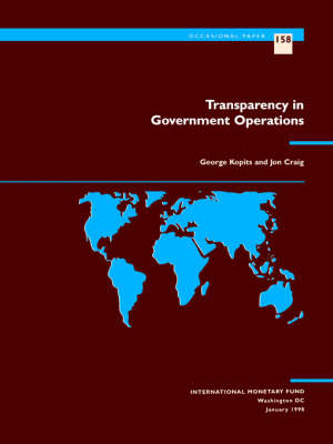 Transparency in Government Operations by George Kopits