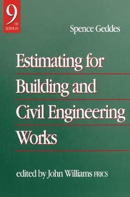 Estimating for Building & Civil Engineering Work book