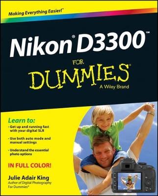 Nikon D3300 for Dummies by Julie Adair King