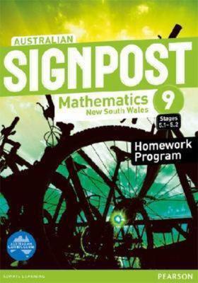 Australian Signpost Mathematics New South Wales  9 (5.1-5.2) Homework Program book