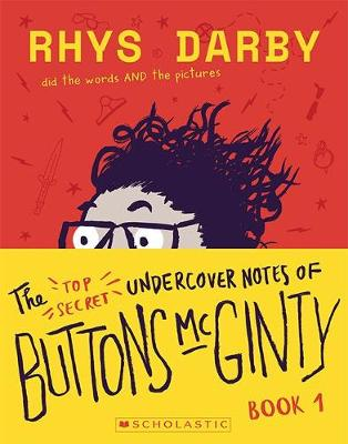 The Top Secret Undercover Notes of Buttons McGinty book