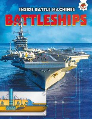 Inside Battle Machines: Battleships by Chris Oxlade