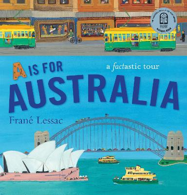 A is for Australia book
