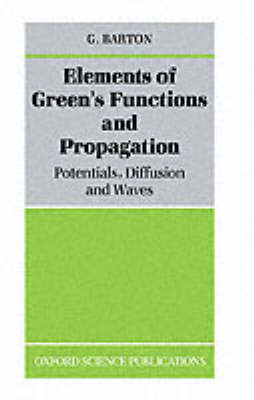Elements of Green's Functions and Propagation book