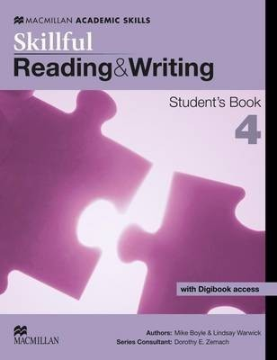 Skillful Level 4 Reading & Writing Student's Book & Digibook Pack by Mike Boyle