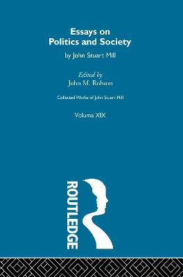 Collected Works of John Stuart Mill book