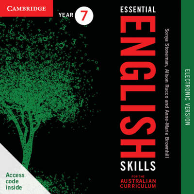 Essential English Skills for the Australian Curriculum Year 7 Electronic Version: A Multi-level Approach book