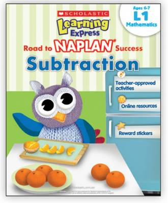 Learning Express NAPLAN: Subtraction L1 book