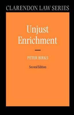 Unjust Enrichment by Peter Birks