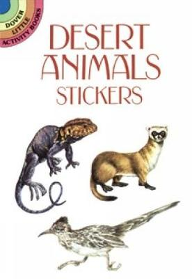 Desert Animals Stickers by Steven James Petruccio