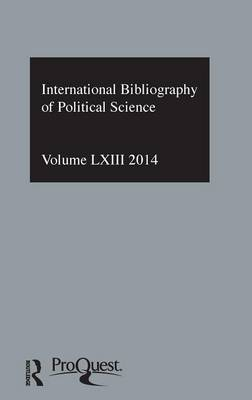 IBSS: Political Science: 2014 book