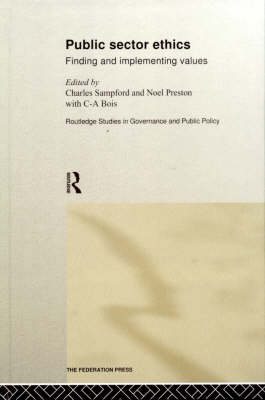 Public Sector Ethics book