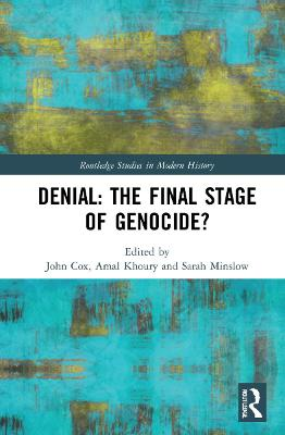 Denial: The Final Stage of Genocide? book