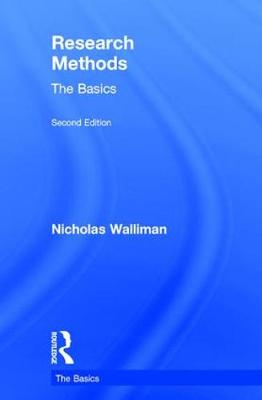 Research Methods: The Basics by Nicholas Walliman