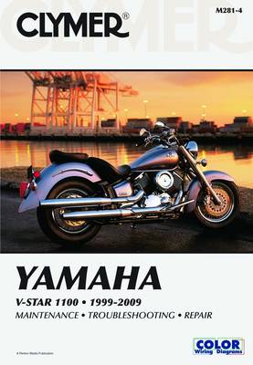 Clymer Yamaha V-Star 1100 1999-2009 by James Grooms