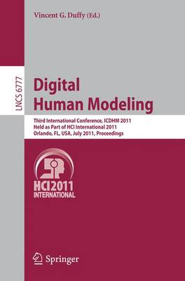 Digital Human Modeling by Vincent G. Duffy