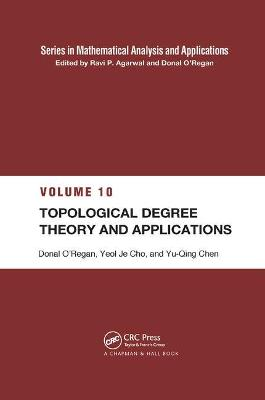 Topological Degree Theory and Applications book