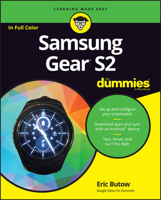Samsung Gear S2 For Dummies by Eric Butow