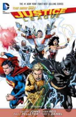 Justice League Volume 3: Throne of Atlantis TP (The New 52) by Geoff Johns
