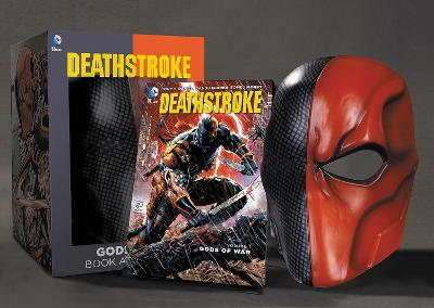 Deathstroke Book and Mask Set by Tony Daniel