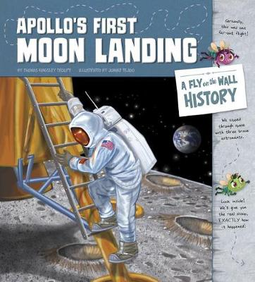 Apollo's First Moon Landing by Jomike Tejido