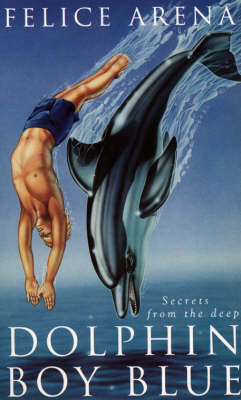 Dolphin Boy Blue by Felice Arena