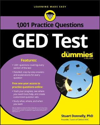 1,001 GED Practice Questions For Dummies book