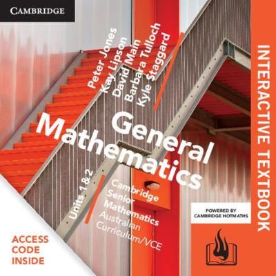 CSM VCE General Mathematics Units 1 and 2 Digital (Card) by Peter Jones
